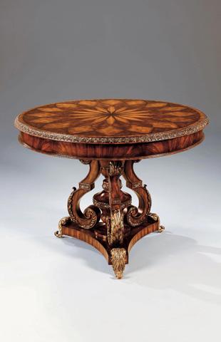 Maitland-Smith - Hyde Park Mahogany Tripod Based Center Table - 3530-090