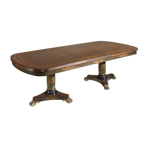 Maitland-Smith - Antique Mahogany Veneer Dining Table - 3531-080
