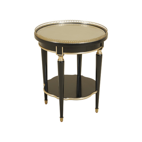 Maitland-Smith - Black Lacquer Occasional Table - 3630-001