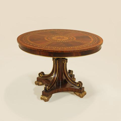 Maitland-Smith - Mahogany Finished Center Table - 3630-046