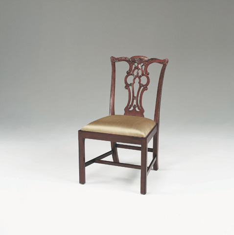 Maitland-Smith - Regency Mahogany Chippendale Side Chair - 4030-300