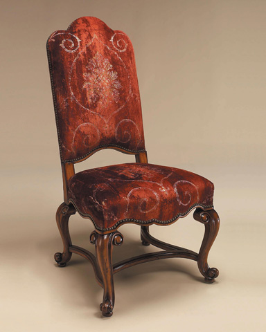 Maitland-Smith - Hand Carved Frontier Side Chair - 4030-621