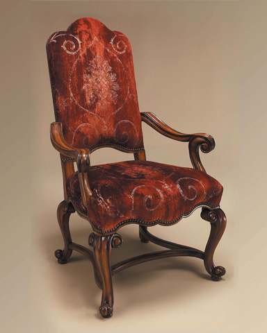 Maitland-Smith - Hand Carved Frontier Armchair - 4130-621