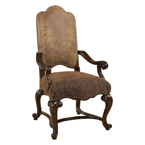 Maitland-Smith - Dark Antique Lido Armchair - 4130-724