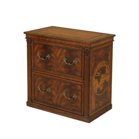 Maitland-Smith - Aged Regency Printer Cabinet - 5130-651