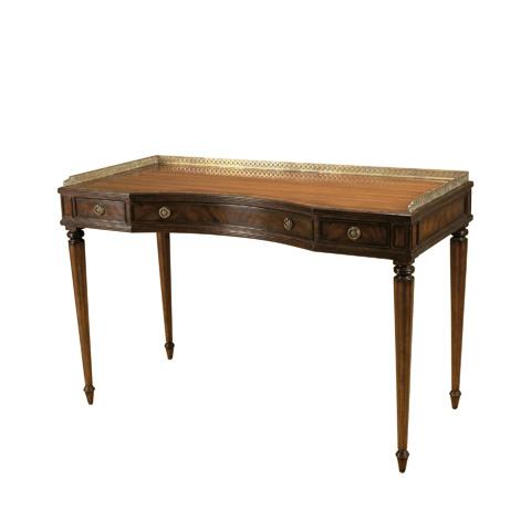 Maitland-Smith - Aged Regency Mahogany Writing Table - 5530-246