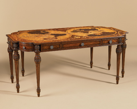 Maitland-Smith - Aged Regency Finished Desk - 5530-288