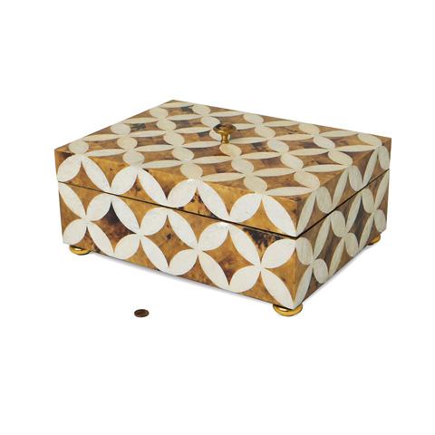 Maitland-Smith - Penshell Inlaid Box - 1100-583