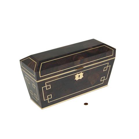 Maitland-Smith - Brown Penshell Inlaid Box - 1100-584