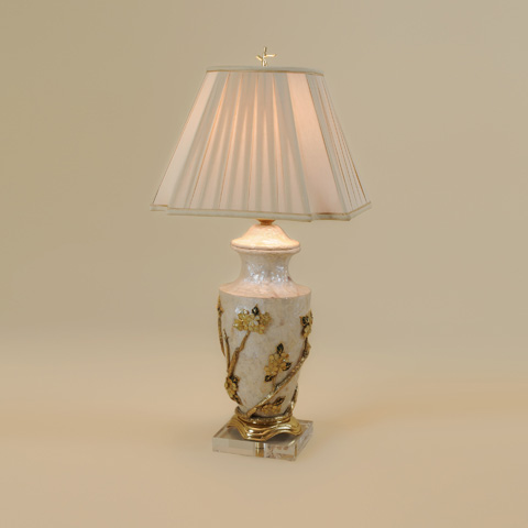 Maitland-Smith - Assorted Shell Inlaid Table Lamp - 1700-425