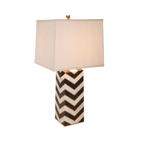 Maitland-Smith - Chevron Patterned Table Lamp - 1700-426