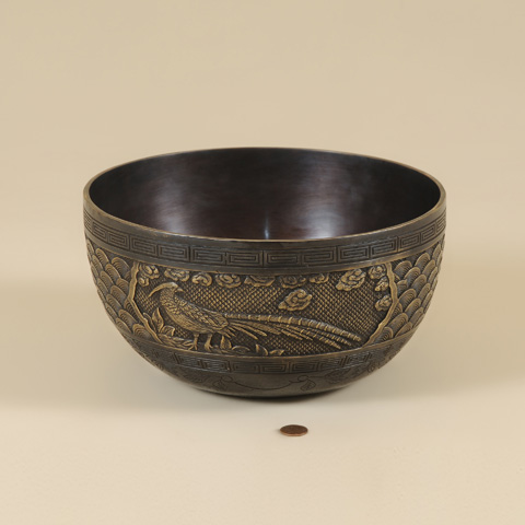 Maitland-Smith - Brass Bowl - 2154-573