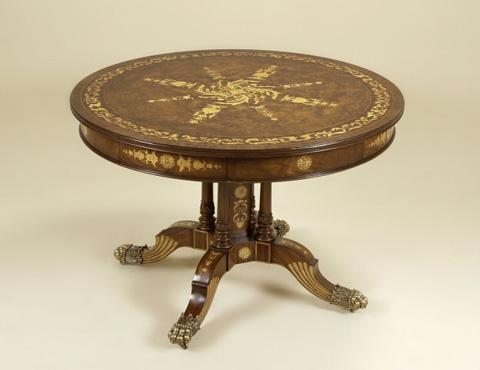 Maitland-Smith - Warm Honey Burnished Center Table - 3030-773