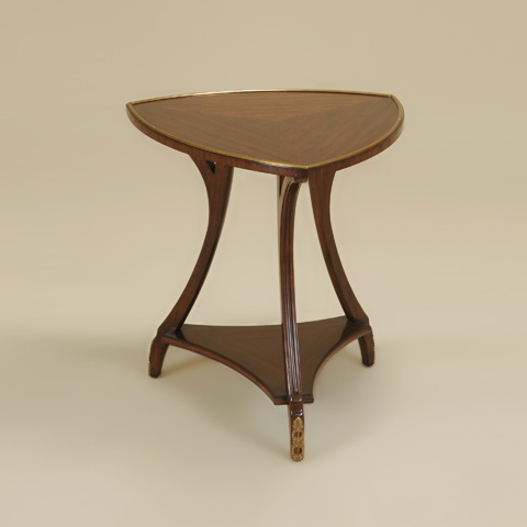 Maitland-Smith - Dark Walnut Finished Occasional Table - 3630-085