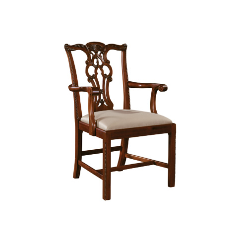 Maitland-Smith - Chippendale Arm Chair - 4130-300