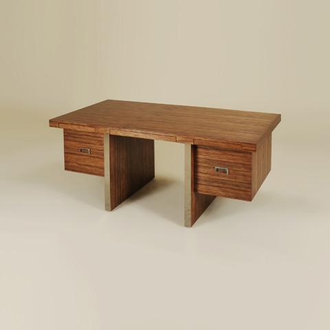 Maitland-Smith - Natural Finished Desk - 5530-341