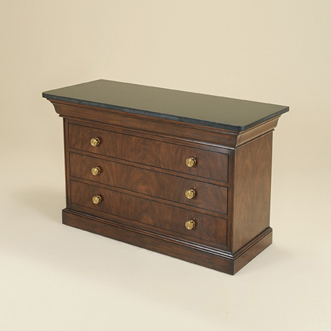Maitland-Smith - Webster Walnut Finished Chest of Drawers - 5030-372