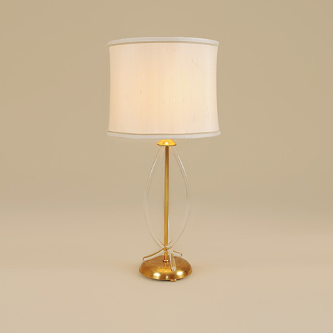 Maitland-Smith - Soft Finished Brass Table Lamp - 1743-215