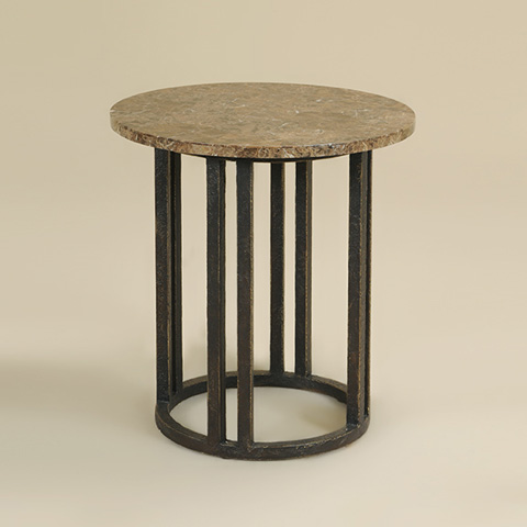 Maitland-Smith - Hammered Iron Occasional Table - 3251-435