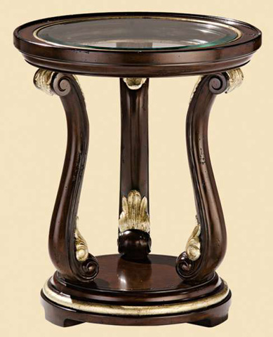 Marge Carson - Avignon Chairside Table - AV30