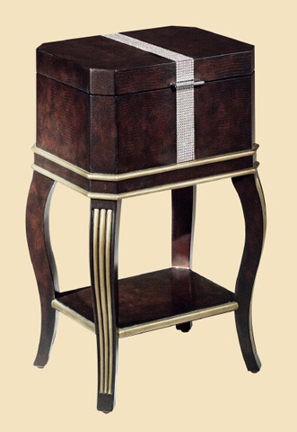 Marge Carson - Gramercy Chairside Box Table - GM28