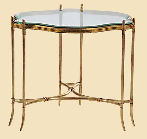 Marge Carson - Pegasus Round End Table - PE04