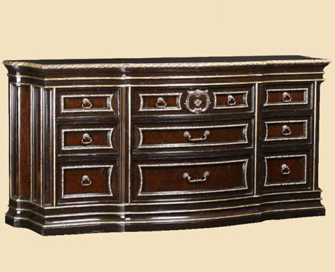 Image of Nine Drawer Media Dresser