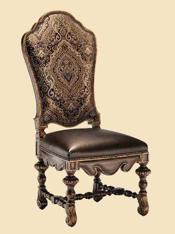 Image of Arched Back Side Chair
