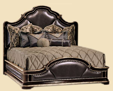 Image of King Upholstered Low Bed