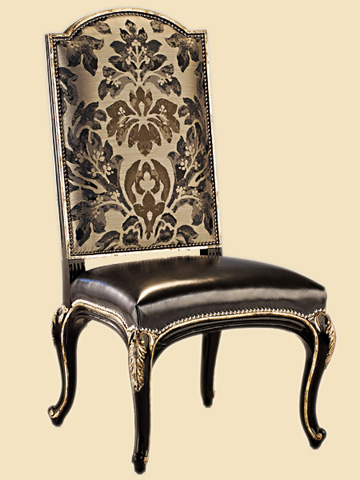 Marge Carson - Upholstered Side Chair - PSM65-1