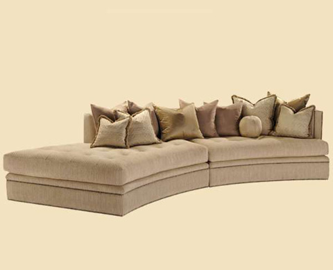 Marge Carson - Galaxy Two Piece Sofa - GXY43-1