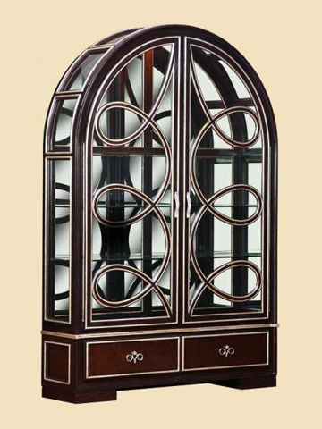 Image of Arched Display Cabinet