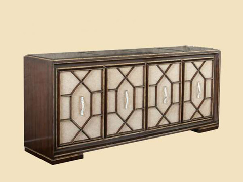 Image of Mirrored Credenza