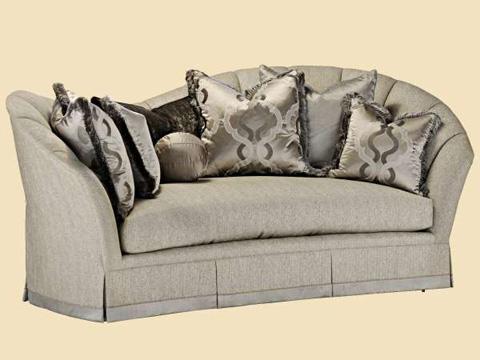 Marge Carson - Adele Wave Back Sofa - ADL43