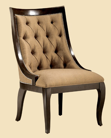 Marge Carson - Astoria Side Chair - AT45