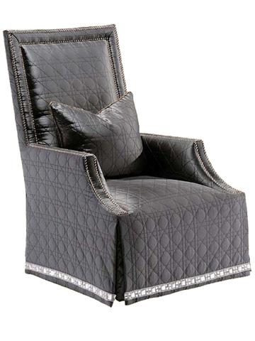 Marge Carson - Blair Skirted Chair - BLR41