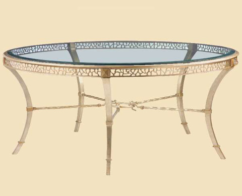 Marge Carson - Round Cocktail Table - BOL00