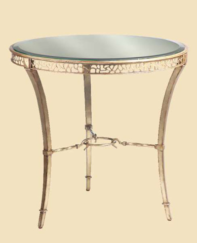 Marge Carson - Round End Table - BOL04