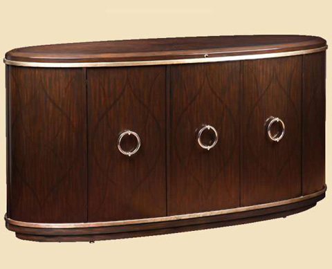 Image of Oval Credenza