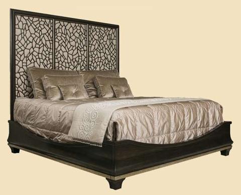 Marge Carson - King Upholstered Panel Bed - BOL11U