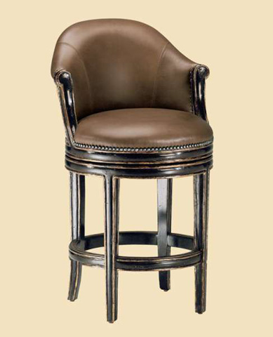 Marge Carson - Brussels Swivel Counter Stool - BU47-26