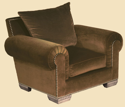 Marge Carson - Bentley Lounge Chair - BY41L