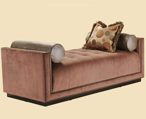 Image of Celine Upholstered Bench