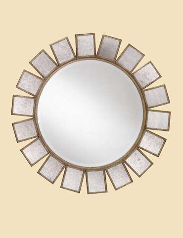Marge Carson - Gramercy Round Wall Mirror - GM37