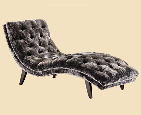 Marge Carson - Lexi Tufted Chaise - LEX44