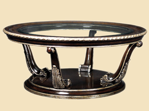 Marge Carson - Round Cocktail Table - PSM00-1