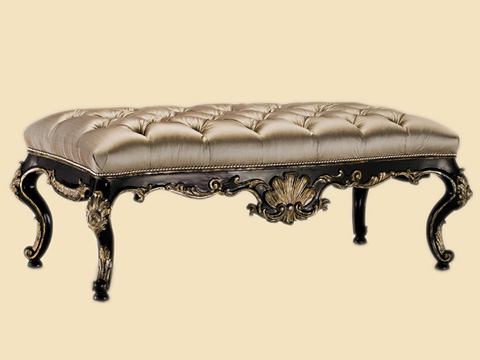 Image of Tufted Bed Bench