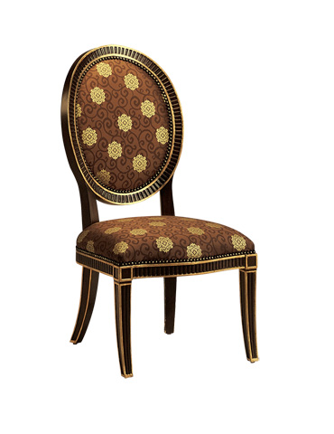 Image of Oval Back Side Chair
