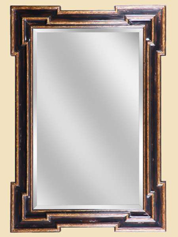 Marge Carson - Rectangular Wall Mirror - RVL17-2