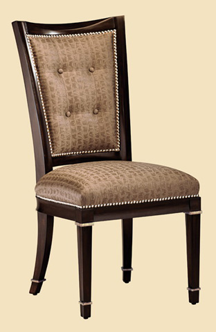 Marge Carson - Button Back Side Chair - SBA45-1